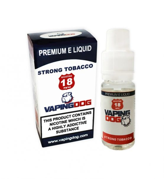 Strong Tobacco e juice